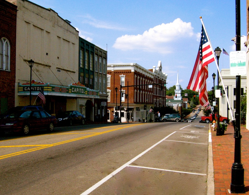 Greeneville, Tennessee (Courtesy Casey Nicholson, Wikimedia Commons)