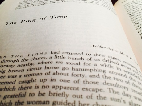 """""""The Ring of Time"""" by E.B. White."""